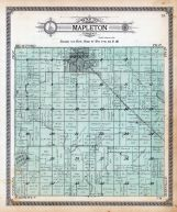 Mapleton Township, Lura Lake, Maple River, Blue Earth County 1914